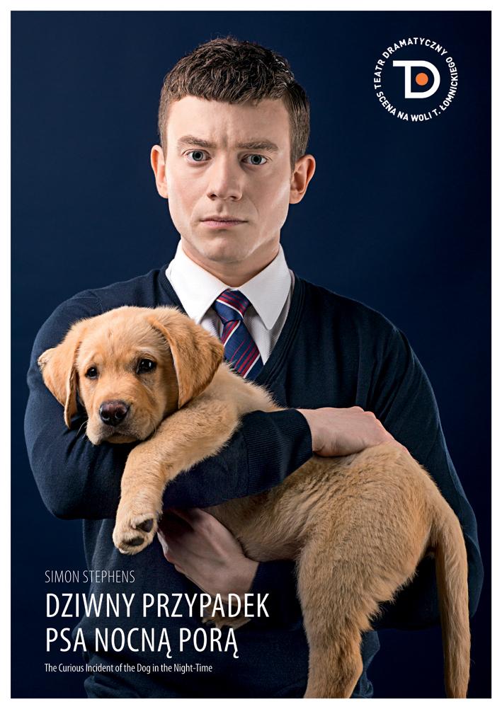 """""""Dziwny przypadek psa nocną porą"""", plakat (źródło: materiały prasowe)"""