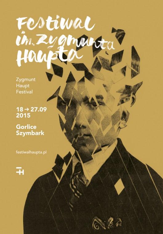 Festiwal im. Zygmunta Haupta – plakat (źródło: materiały prasowe organizatora)