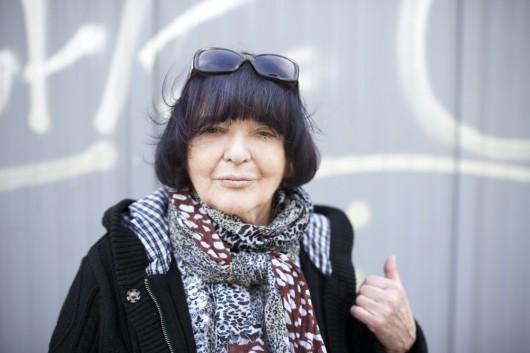 Hanna Krall, fot. Krzysztof Dubiel dla Instytutu Książki (źródło: materiały prasowe)