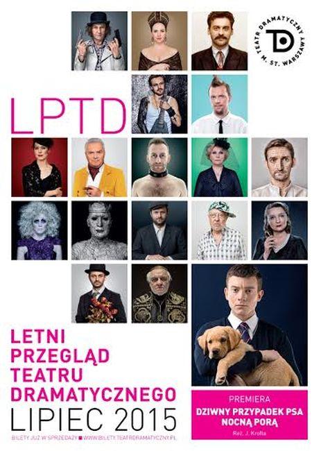 Letni Przegląd Teatru Dramatycznego – plakat (źródło: materiały prasowe)