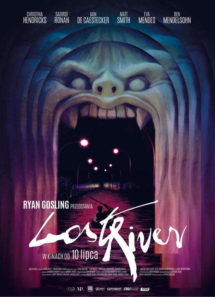 """""""Lost River"""", reż. Ryan Gosling, plakat (źródło: materiały prasowe)"""
