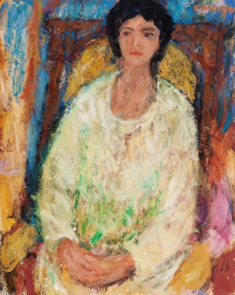 """Edward Nadulski, """"Portret żony"""" (źródło: materiały prasowe organizatora)"""