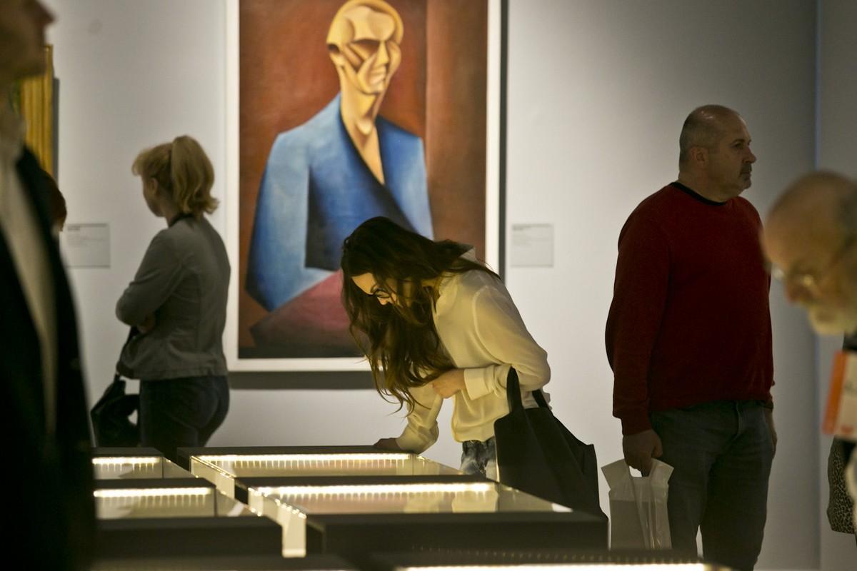"""Wystawa """"Papież awangardy"""", fot. B. Bajerski (źródło: materiały prasowe organizatora)"""