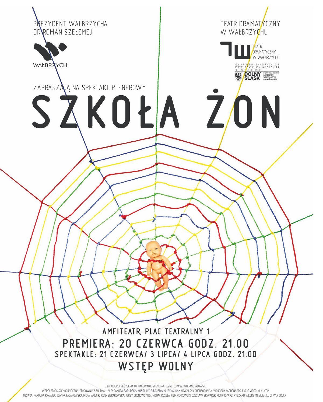 """""""Szkoła Żon"""" – plakat (źródło: materiały prasowe)"""