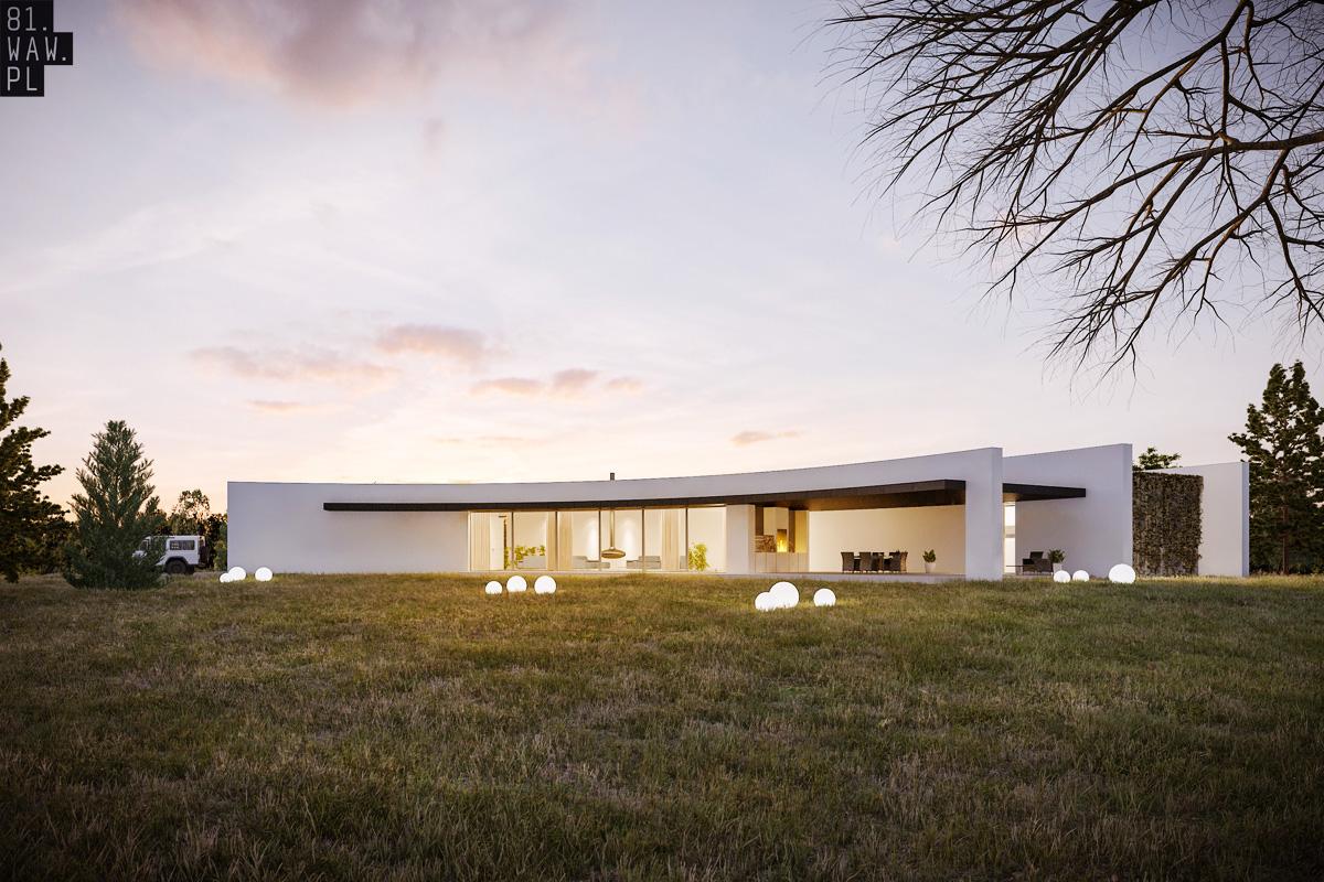 Dom cebula, projekt autorstwa pracowni 81.WAW.PL (źródło: materiały prasowe organizatora)