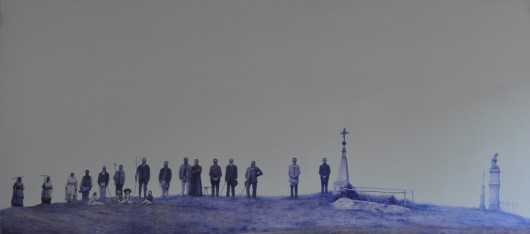 """Andrzej Żygadło, """"Chram Św. Mikołaja"""", Ulucz 1904, fot. archiwum Art Agenda Nova, Kraków (źródło: materiały prasowe)"""