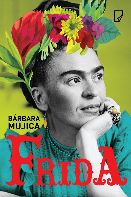 """Bárbara Mujica, """"Frida"""" – okładka (źródło: materiały prasowe wydawcy)"""