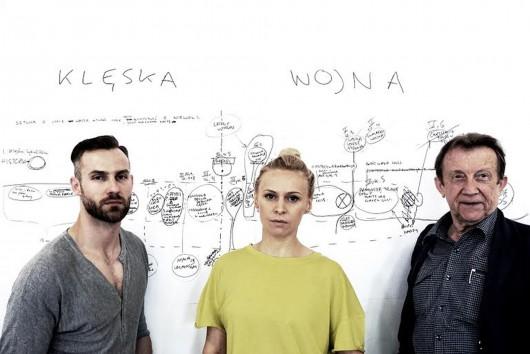 Bartosz Porczyk, Paulina Holtz, Edward Linde-Lubaszenko (źródło: materiały prasowe)