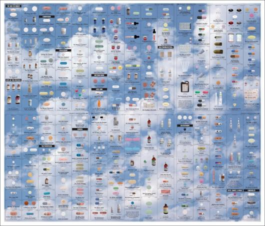 """""""New Religion (Sky)"""" / """"Nowa Religia (Niebo)"""", 2005 / © Damien Hirst and Science Ltd. (źródło: materiały prasowe)"""