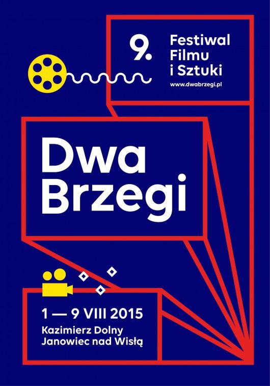 9. Festiwal Filmu i Sztuki Dwa Brzegi, plakat (źródło: materiały prasowe organizatora)