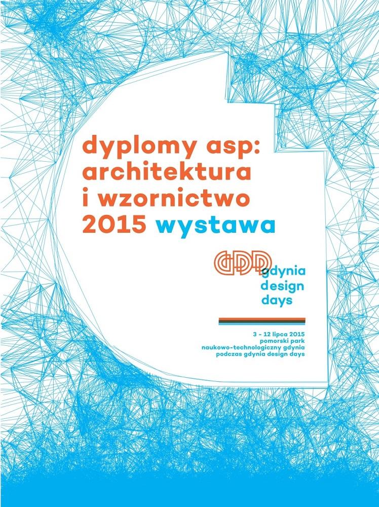 Dyplomy wydziału Architektury i Wzornictwa na Gdynia Design Days 2015 (źródło: materiały prasowe)