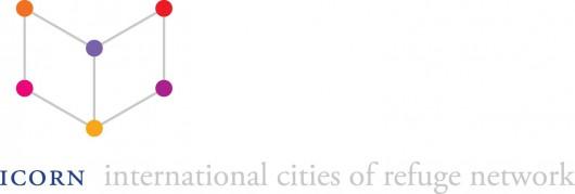 ICORN – Międzynarodowa Sieć Miast Uchodźstwa, logo (źródło: materiały KBF)
