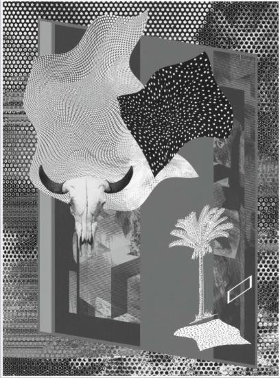 """Ewa Doroszenko, """"Urban Space III"""" (źródło: materiały prasowe organizatora)"""