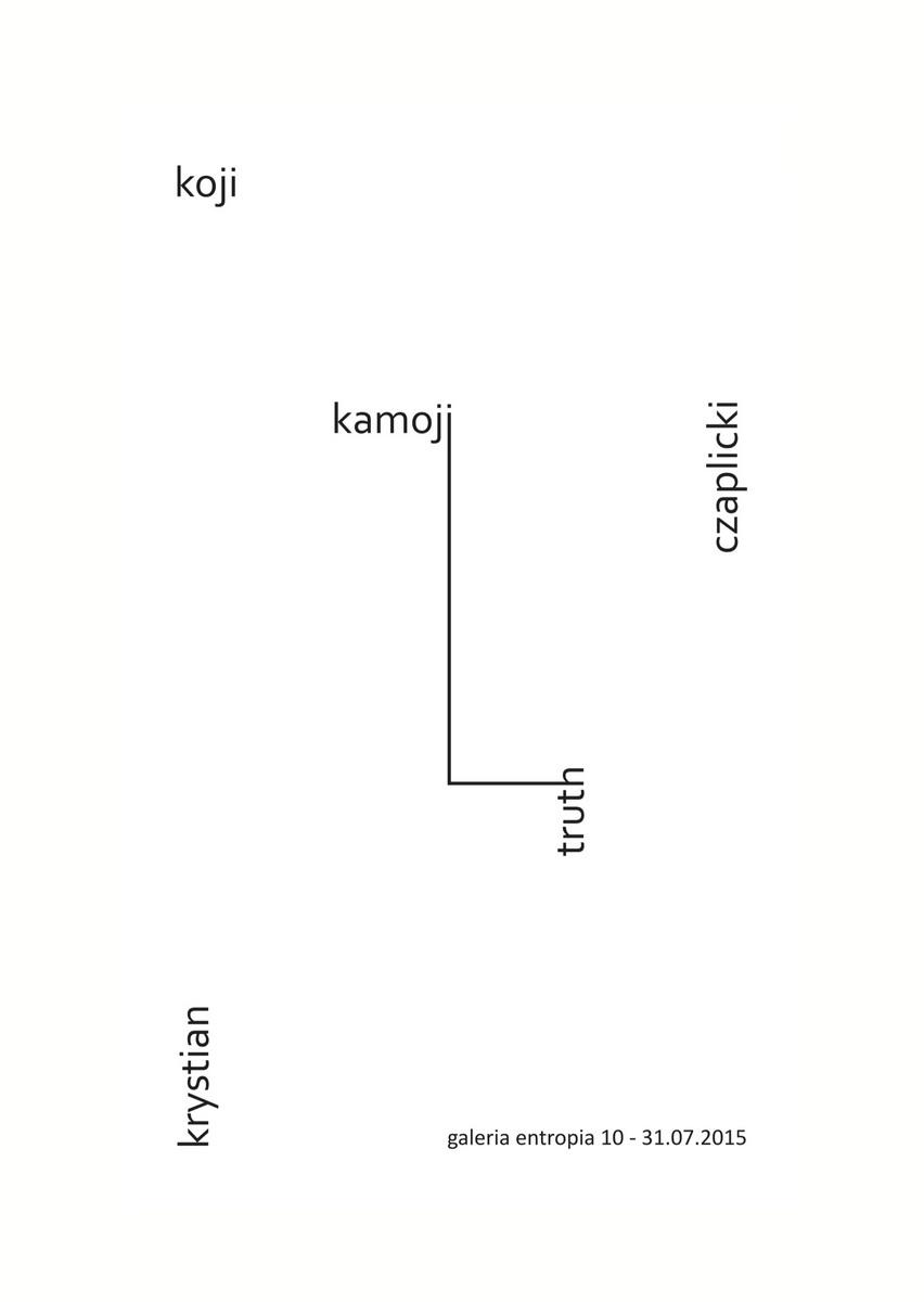 Koji Kamoji i Krystian Truth Czaplicki – plakat (źródło: materiały prasowe)