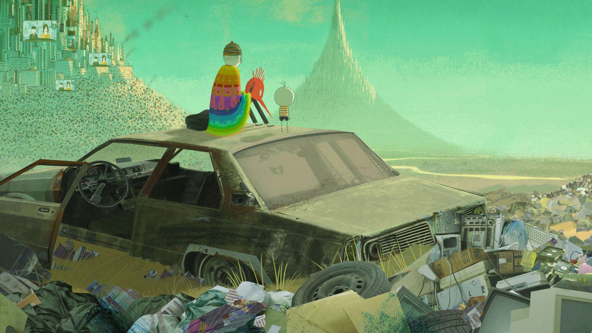 """""""Chłopiec i świat"""", reż. Alê Abreu, Brazylia, 2013 (źródło: materiały prasowe organizatora)"""