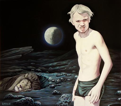 """Maciej Rauch, wystawa """"Adventures on the moon"""" (źródło: materiały prasowe organizatora)"""