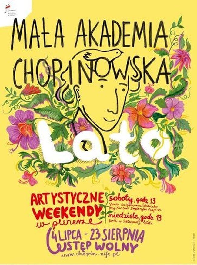"""""""Mała Akademia Chopinowska"""" – plakat (źródło: materiały prasowe)"""