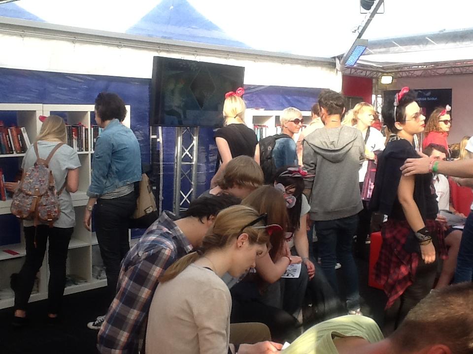 Literatura na Open'er Festival, fot. Instytut Książki (źródło: materiały prasowe)