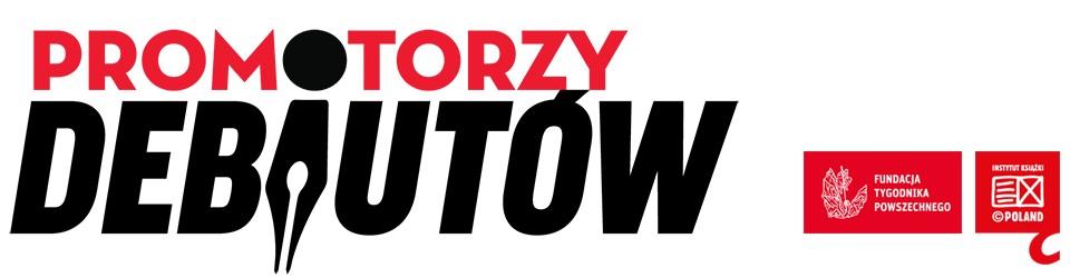 """""""Promotorzy Debiutów"""" – logo (źródło: materiały prasowe organizatora)"""