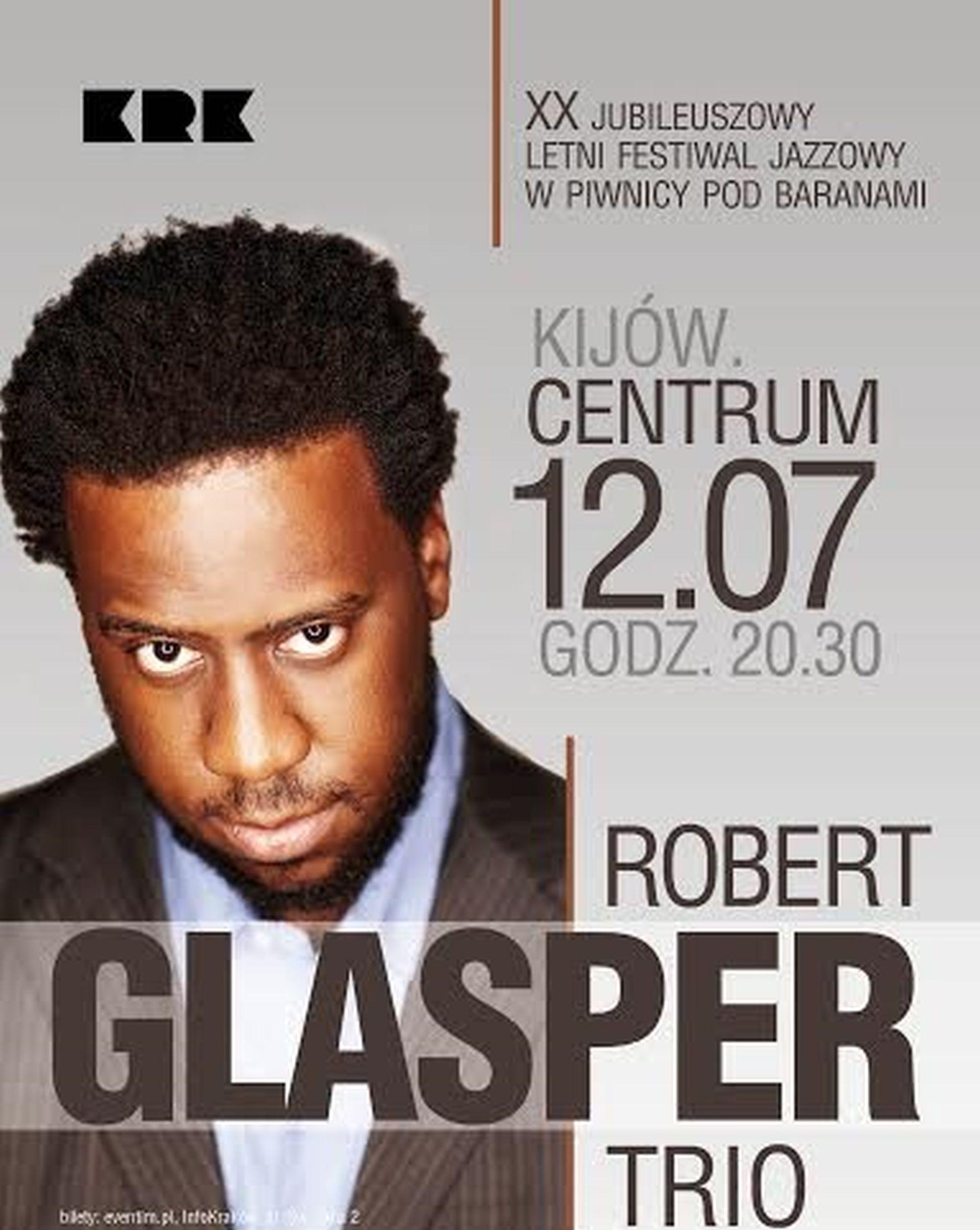 Robert Glasper Trio (źródło: materiały prasowe)