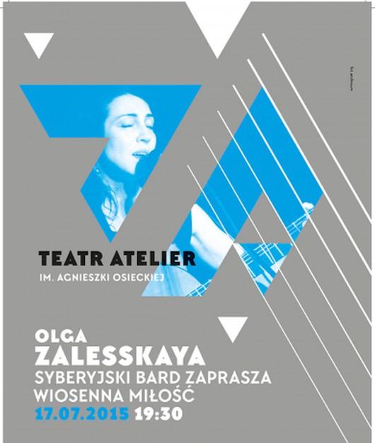 """""""Rosyjski Bard Zaprasza"""" – plakat (źródło: materiały prasowe)"""