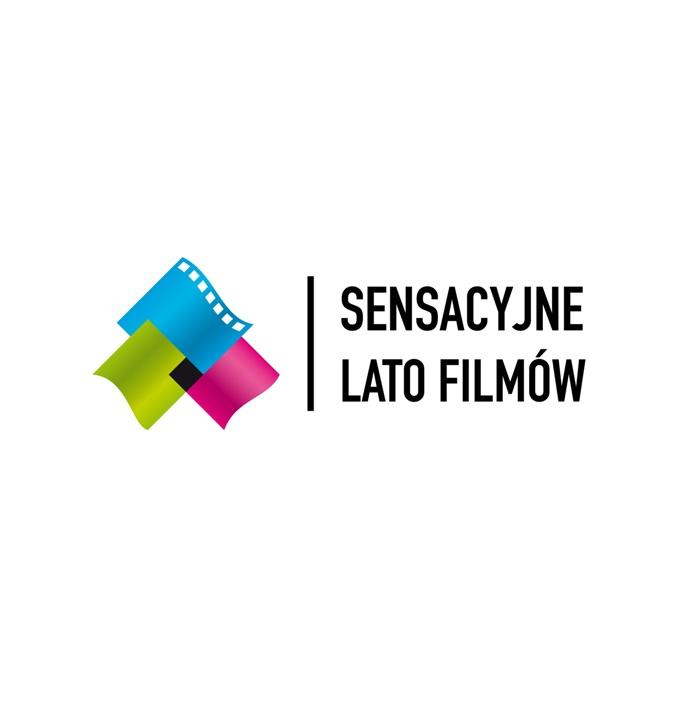 """IV Kołobrzeski Festiwal Filmowy """"Sensacyjne Lato Filmów"""", logotyp (źródło: materiały prasowe organizatora)"""