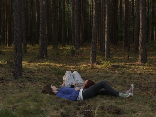 """Wykład """"Podmiot w pejzażu. Milena, Milena i Rudzienko Sharon Lockhart"""" (źródło: materiały prasowe organizatora)"""