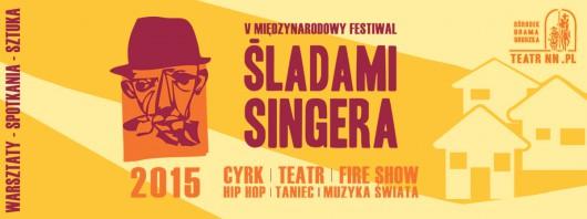 V Międzynarodowy Festiwal Śladami Singera – baner (źródło: materiały prasowe)
