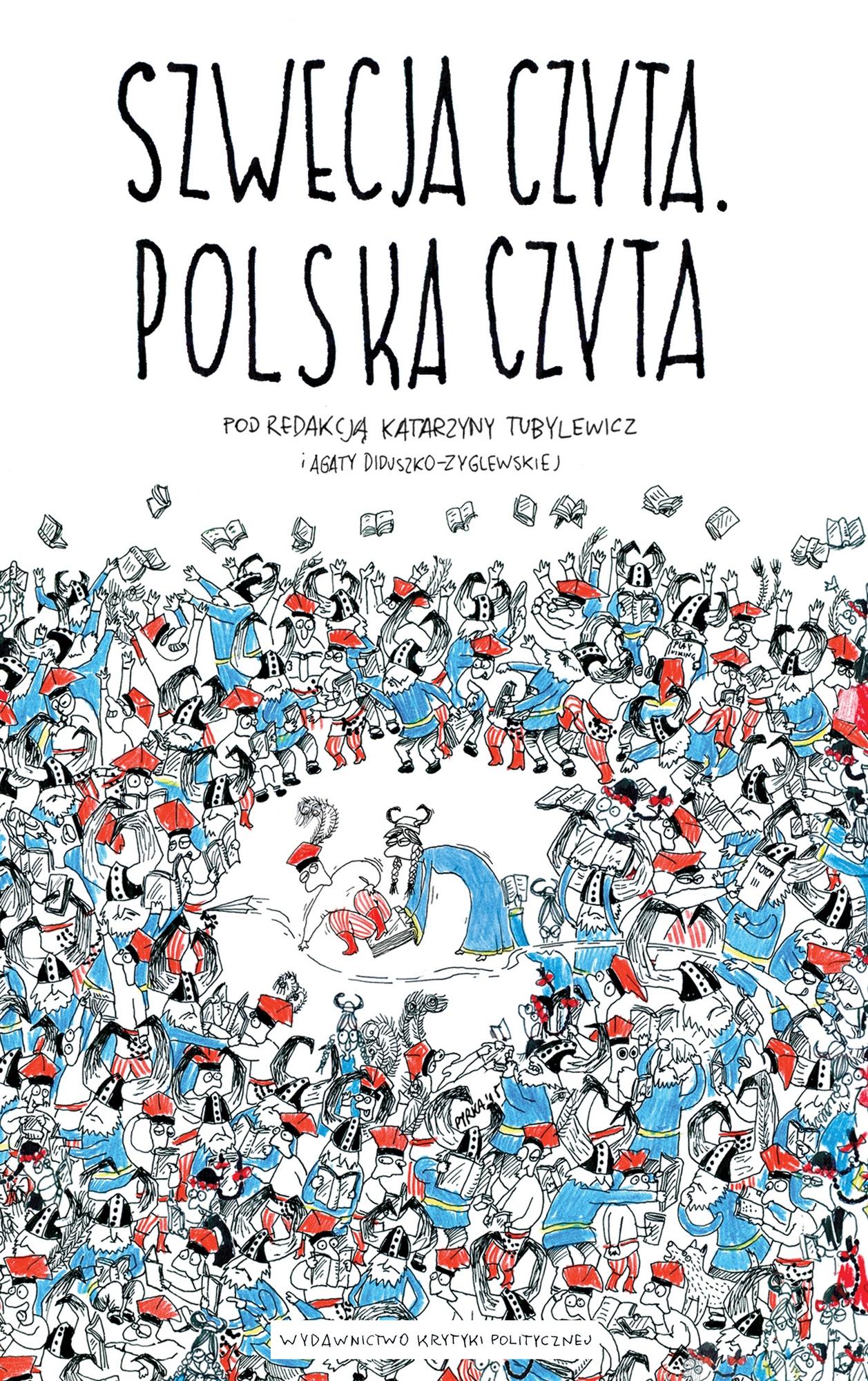 """""""Szwecja czyta, Polska czyta"""" – okładka (źródło: materiały prasowe wydawcy)"""