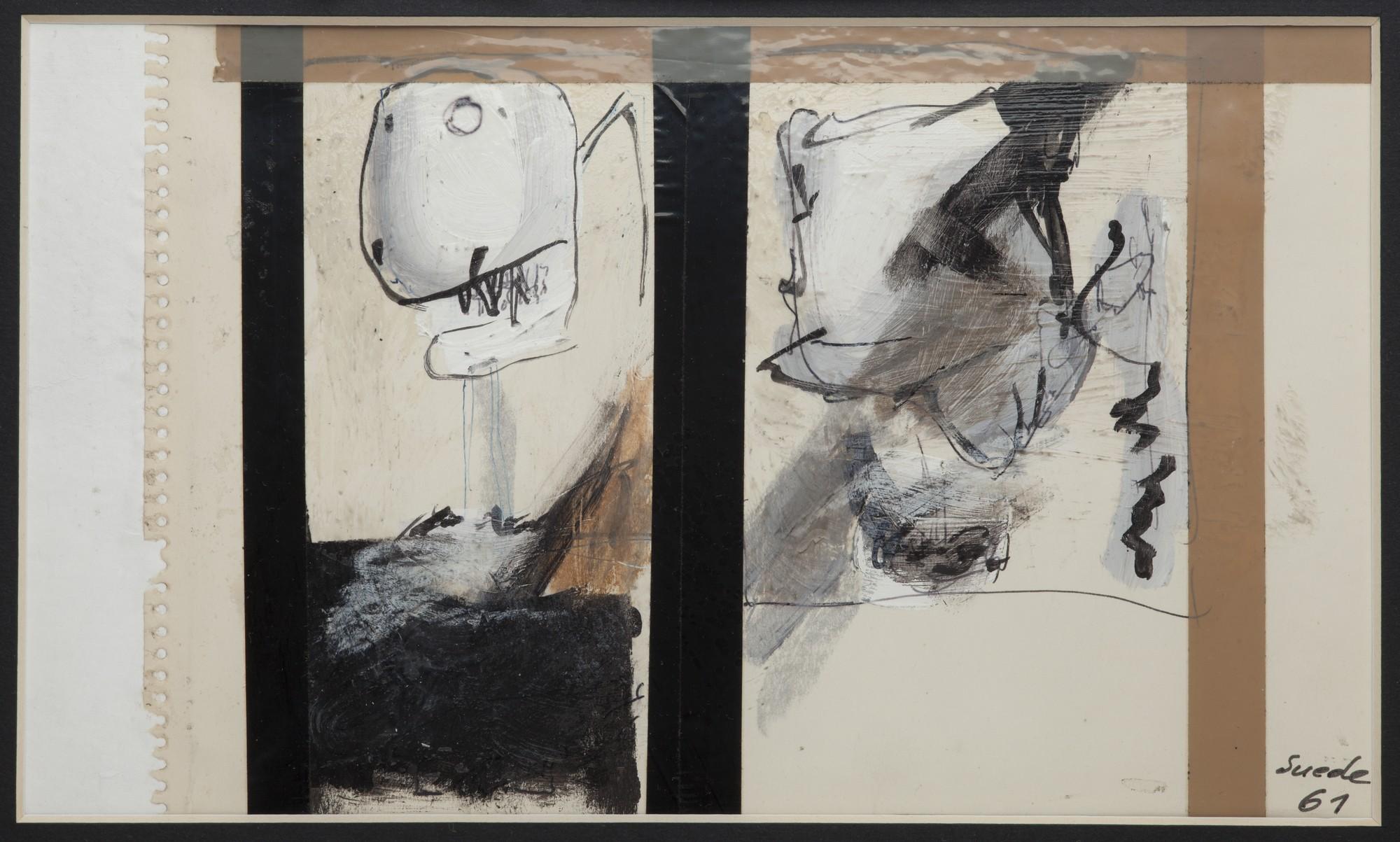 """Tadeusz Kantor, """"Suede 61"""". Zdjęcie udostępnione dzięki uprzejmości Muzeum Narodowego w Krakowie, kolekcja prywatna (źródło: materiały prasowe)"""