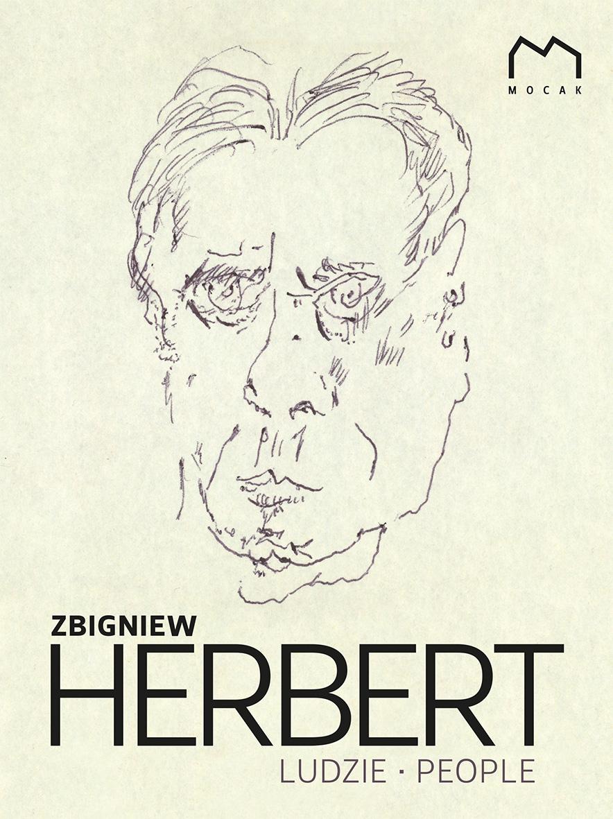 """""""Zbigniew Herbert. Ludzie. People"""" – okładka (źródło: materiały prasowe)"""