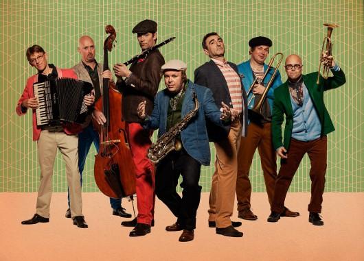 Amsterdam Klezmer Band (źródło: materiały prasowe organizatora)
