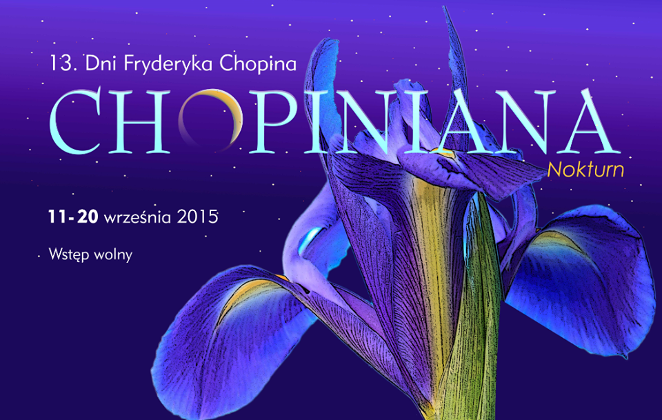 13. Dni Fryderyka Chopina – plakat (źródło: materiały prasowe)