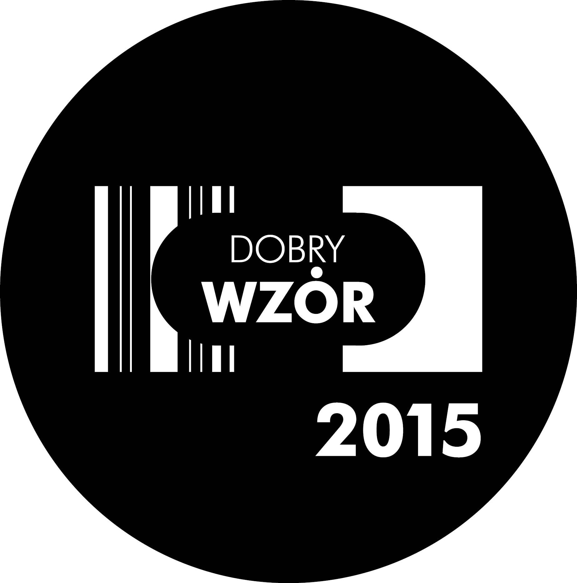 Dobry Wzór 2015, logotyp (źródło: materiały prasowe organizatora)