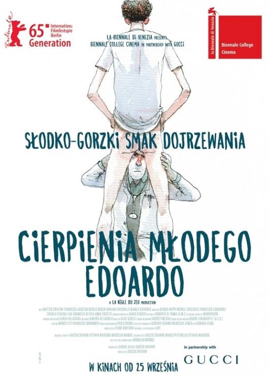 """""""Cierpienia młodego Edoardo"""" – plakat (źródło: materiały prasowe)"""
