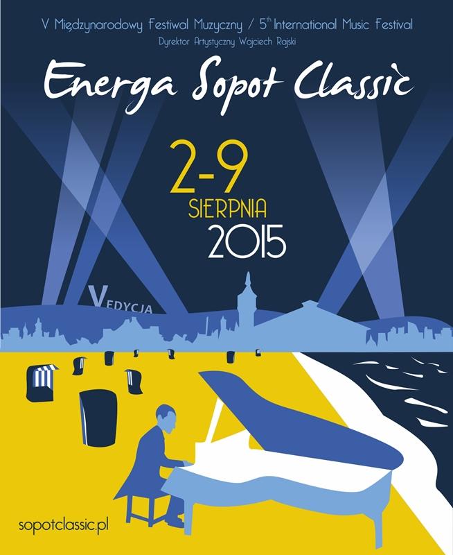 Energa Sopot Classic 2015 – plakat (źródło: materiały prasowe organizatora)