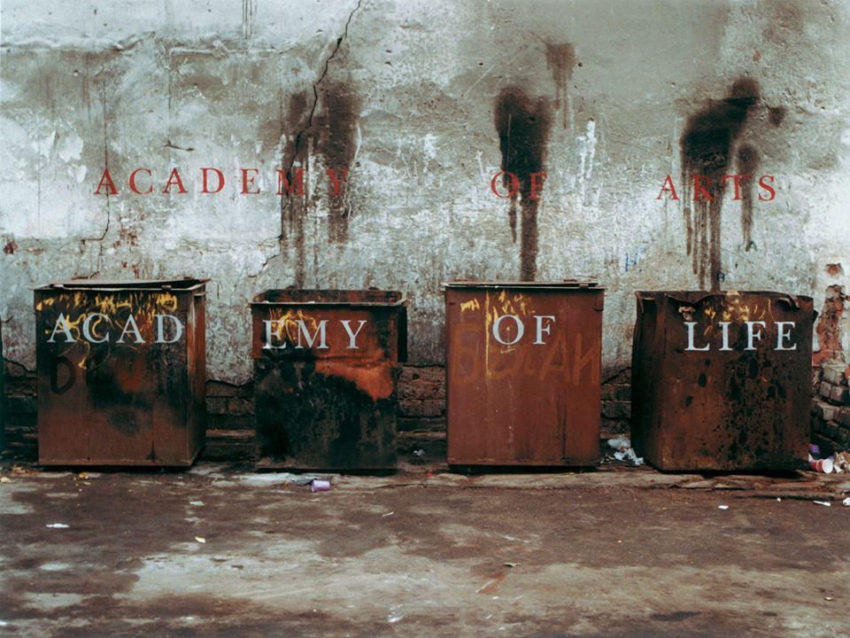 """Andrei Dureika, """"Academy of Art, Academy of Life"""", 1997 (źródło: materiały prasowe organizatora)"""