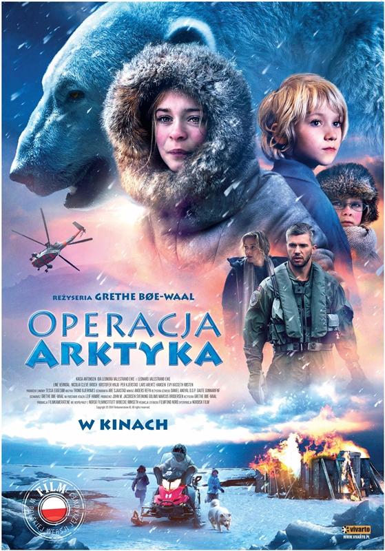 """""""Operacja Arktyka"""", reż. Grethe Bøe-Waal – plakat (źródło: materiały prasowe)"""