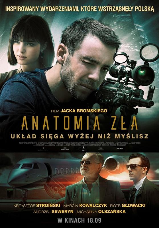 """""""Anatomia zła"""", reż. Jacek Bromski – plakat (źródło: materiały prasowe)"""