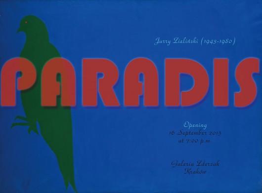 """Jurry Zieliński, wystawa """"Paradis"""" (źródło: materiały prasowe organizatora)"""