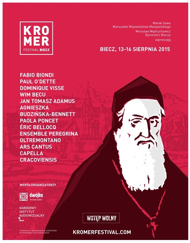 Kromer Festival Biecz – plakat (źródło: materiały prasowe organizatora)
