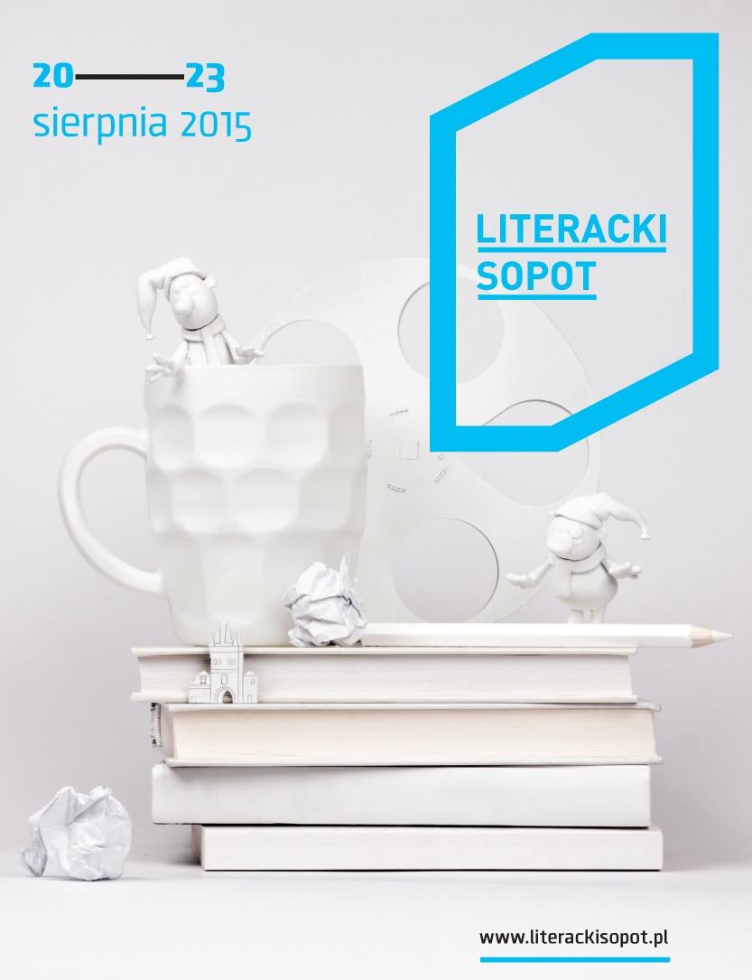 4. Festiwal Literacki Sopot – plakat (źródło: materiały prasowe organizatora)