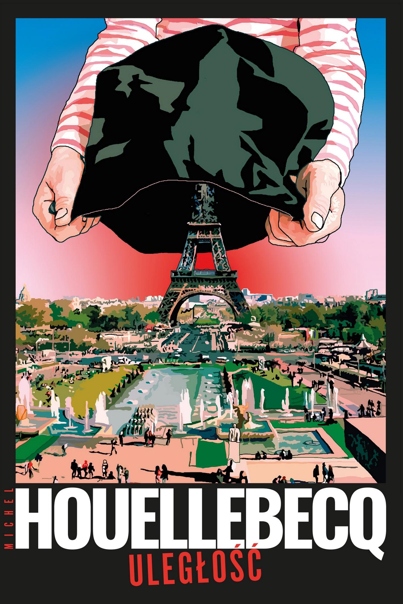 """Michel Houellebecq, """"Uległość"""" – okładka (źródło: materiały prasowe wydawcy)"""