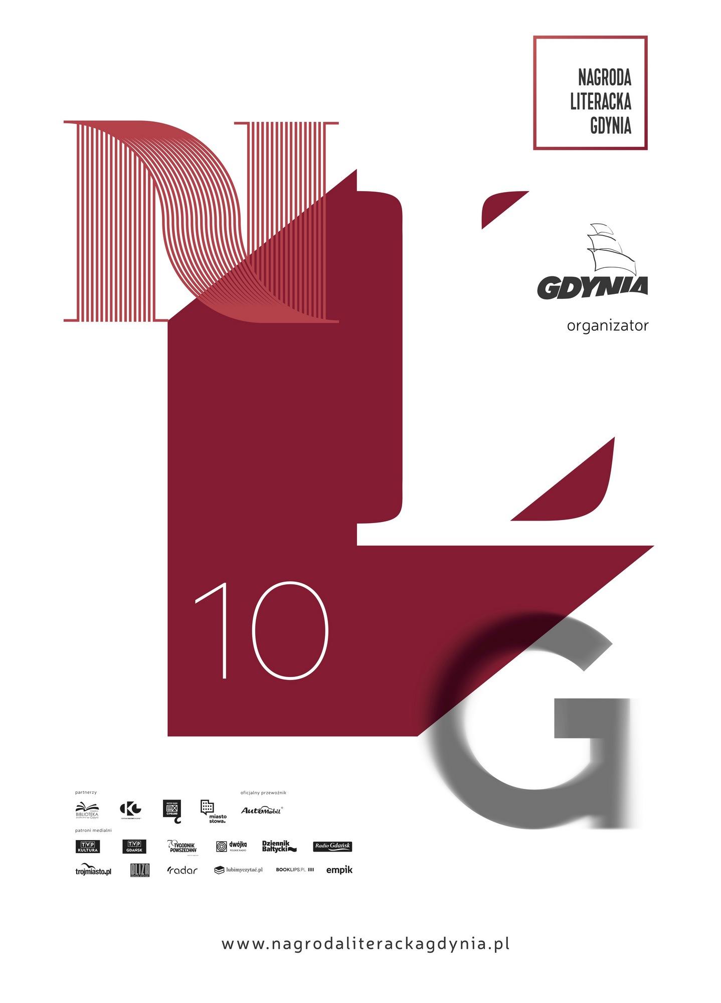 Nagroda Literacka Gdynia – plakat (źródło: materiały prasowe organizatora)