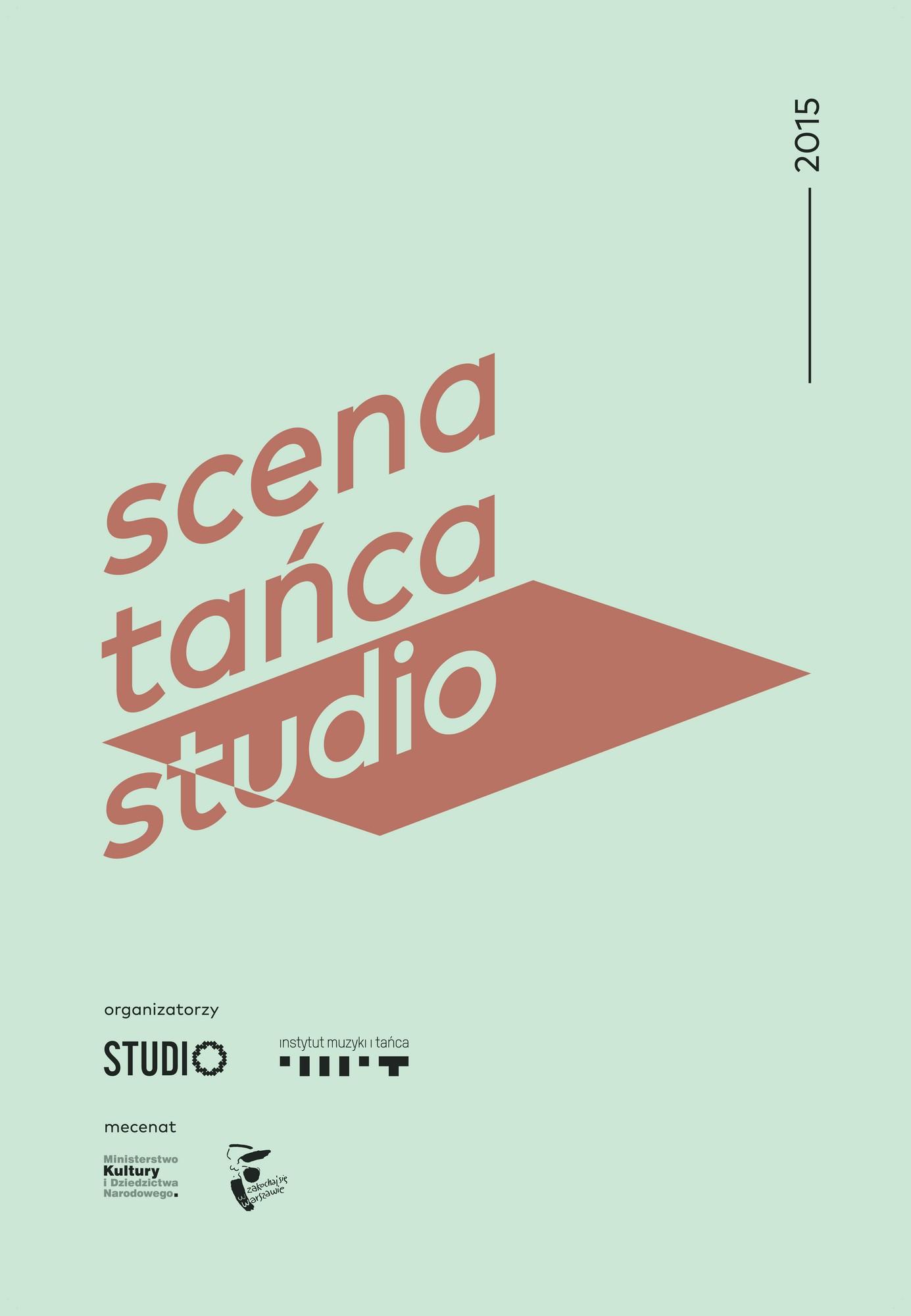 Scena Tańca Studio – plakat (źródło: materiały prasowe organizatora)