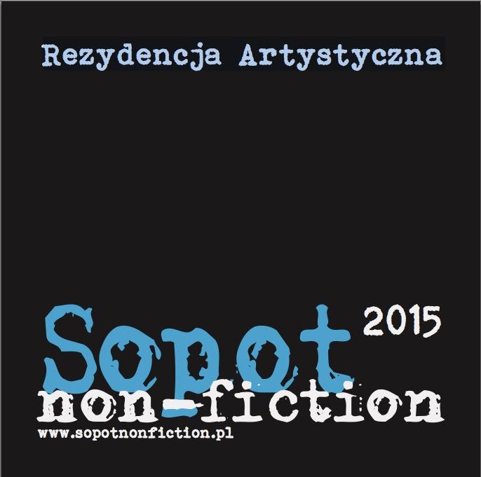 Sopot Non-Fiction 2015 – plakat (źródło: materiały prasowe organizatora)