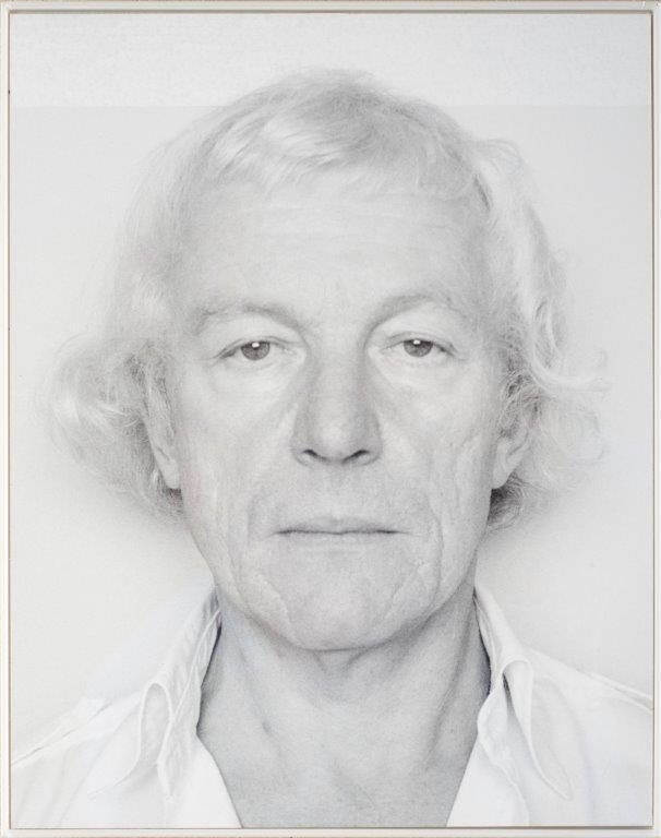 Roman Opałka, autoportret (źródło: materiały prasowe organizatora)
