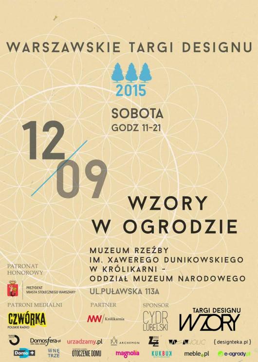 Warszawskie Targi Designu – Wzory w Ogrodzie (źródło: materiały prasowe organizatora)