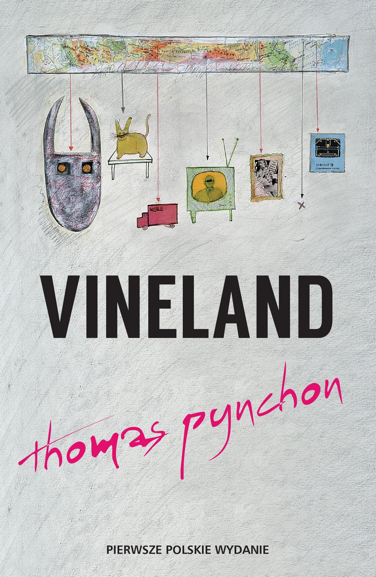 "Thomas Pynchon, ""Vineland"" – okładka (źródło: materiały prasowe organizatora)"