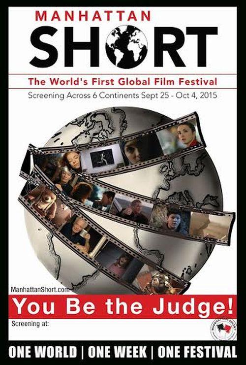 18. Manhattan Short Film Festival – plakat (źródło: materiały prasowe)